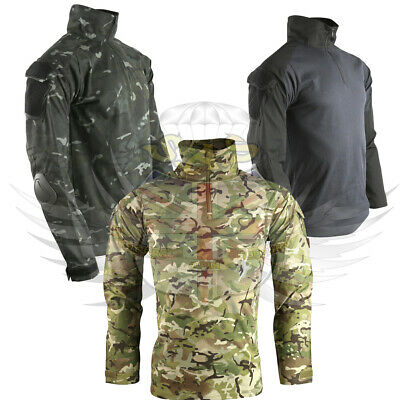 New Kombat Uk Spec-ops Ubacs Tactical Shirt,btp Black Or Btp Camouflage Pattern • 29.95£