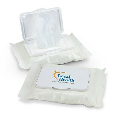 AU290.80 • Buy 100 X Wet Wipes Personal/Amenities Bulk Gifts Promotion Business Merchandise