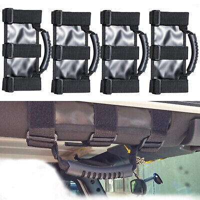AU36.59 • Buy 4pcs Grab Handles For Jeep Wrangler YJ TJ JK JL Sports Sahara 1987-2020 2/4Door