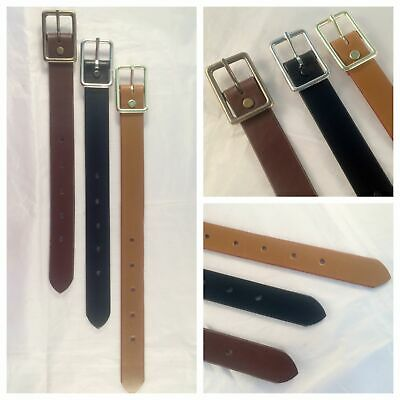 $13.64 • Buy 1 In. Adjustable Leather Strap Extenders Extensions For Bag Straps - 3 Lengths