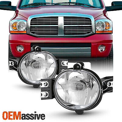 $36.99 • Buy Fit 2002-2008 Dodge Ram 1500 + 2003-2009 Dodge Ram 2500/3500 Pickup Fog Lights