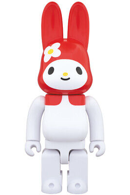$151.66 • Buy Medicom R@bbrick 2019 Sanrio 400% Rabbrick My Melody Red Ver Bearbrick