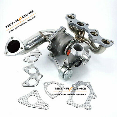 AU679 • Buy TD04 Turbo + Exhaust Manifold+ PIPE For Toyota EP82 EP85 EP91 4EFTE 49377-04300