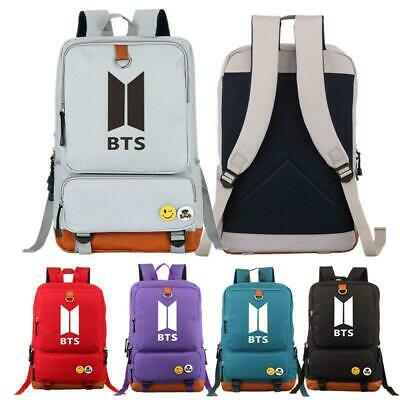 $30.59 • Buy BTS / Bangtan Boys Kpop Backpack Tarvel Casual Rucksack Bookbag School Bag Big