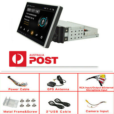 AU245.41 • Buy 10.1  Touch Screen Single Din Adjustable Android 9.1 1080P Car Stereo MP5 Player