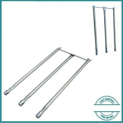 $ CDN37.95 • Buy Stainless Steel Pipe Tube Burners 3pk BBQ Gas Grill Parts Weber Genesis Spirit