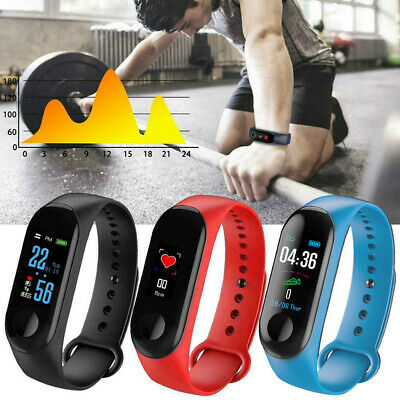 AU12.69 • Buy Fitness Smart Watch Activity Tracker Women Men Kids For IOS Android Heart Rate