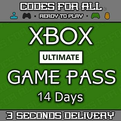 $3.13 • Buy Xbox Ultimate Game Pass - 14 Day Xbox Live Gold + Game Pass Instant Dispatch