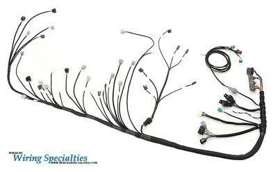 $ CDN1620.07 • Buy Wiring Specialties Pro Engine Tranny Harness 2JZ 2JZGTE Into BMW E46 CANBUS