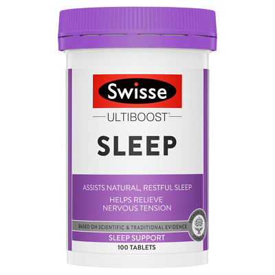 Swisse Ultiboost Sleep ~ 100 Tablets ~ Fast Shipping 7 - 14 Days Arrive !! • 16.30£
