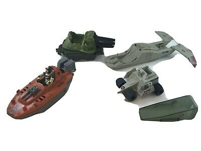 $ CDN49.97 • Buy GI Joe Vintage Lot Devil Fish Tank Figure Mt89 1980s Toys Four Vehicles 1 Figure