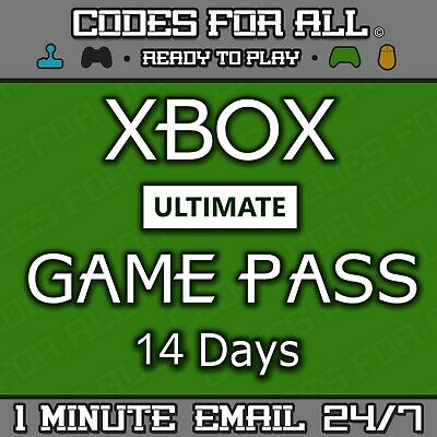 $2.69 • Buy Xbox Game Pass Ultimate - 14 Day Xbox Live Gold + Game Pass Instant Dispatch