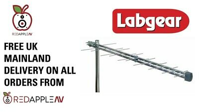 Labgear LOG28T 28 Element Log Periodic TV Aerial For Digital Freeview HD TV • 24.99£