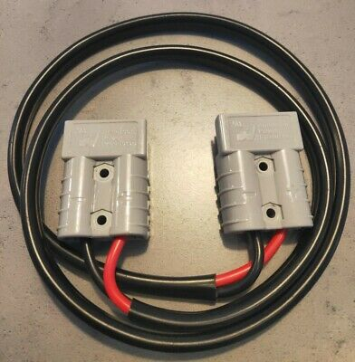 AU18.50 • Buy Anderson Plug SMH BRAND Extension  Lead 1 Meter Long 50amp  6mm² Cable