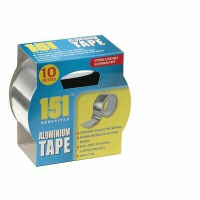 £4.95 • Buy 10 Metres Aluminium Strong And Reliable Tape Temporary Exhaust Pipe Repairs UK