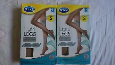 Scholl Light Legs Compression Tights Nude X2  • 9£