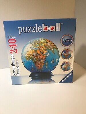 $9.50 • Buy Ravensburger Puzzle Ball 240 6 In 110209 Preowned COMPLETE