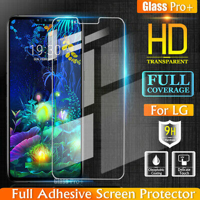 AU5.95 • Buy GLASS PRO+ LG V50 ThinQ Full Coverage Tempered Glass LCD Screen Protector Guard