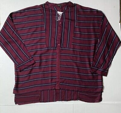 AU53.88 • Buy Brand New- Oysho 1/2 Button Front Longsleeved Blouse Womens (Size L)