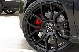 AU1590 • Buy 20  G8 F'Series Commodore Wheel And Tyre Package Full Black