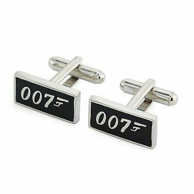£6.45 • Buy James Bond 007 Cufflinks Mens Business Shirt Cuff Link Party In Gift Box UK