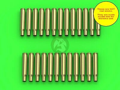 $12.96 • Buy Master 1/35 M1919 (AN/M2) Browning .30 Cal 7.62mm Empty Shells (25 Pc) GM-35-022
