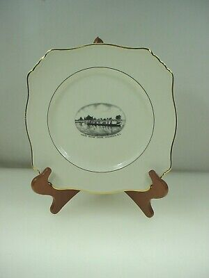 $ CDN34.95 • Buy Royal Winton Grimwades Souviner Plate Indian Racing Canoe Chemainus Bc Canada