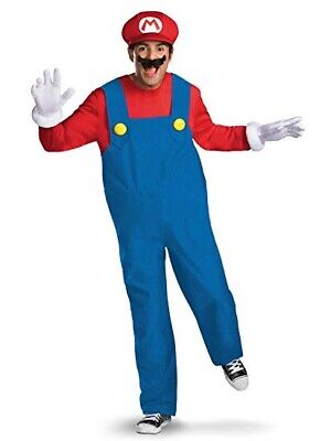 $31.99 • Buy Disguise Super Mario Deluxe Mens Adult Costume - NWT Free Shipping