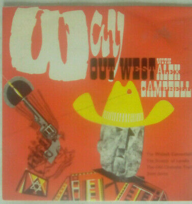£3.99 • Buy Way Out West With Alex Campbell And The Gunslingers 4 Track 7 Inch EP Arc1963