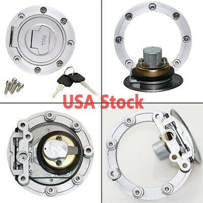 $21.75 • Buy Fuel Gas Tank Cap Cover Lock For Yamaha YZF R6S 2003-2008 2004 2005 2006 2007
