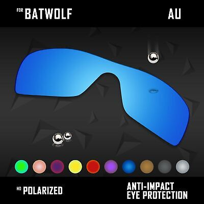 AU16.98 • Buy Anti Scratch Polarized Replacement Lenses For-Oakley Batwolf OO9101 Options