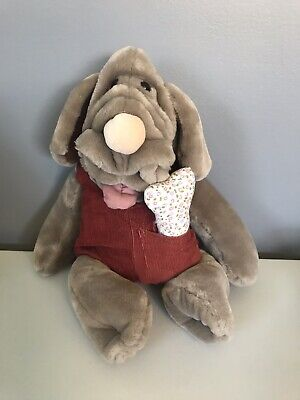 £16.57 • Buy Wrinkles 17  Dog Ganz Bros Hand Puppet Outfit Plush Stuffed Toy Vintage