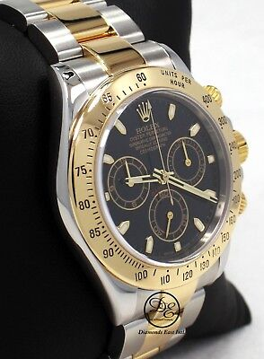 $ CDN23351.28 • Buy Rolex Daytona 116523 Cosmograph 2Tone 18K Yellow Gold /SS Black Dial Watch Paper