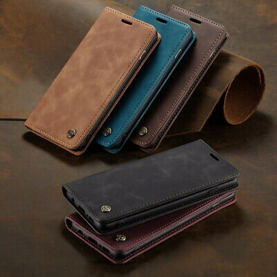 $ CDN6.24 • Buy For Samsung S21 S20 S10 S9 S8 A50 A51 A71 Leather Case Card Pocket Wallet Cover