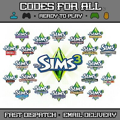 The Sims 3 Base Game & Expansion Packs Origin PC / Mac - FAST DISPATCH • 4.89£