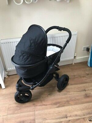 £385 • Buy ICandy Peach All Terrain Pushchair Carrycot In Eclipse Black Buggy & Accessories