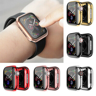 $ CDN4.70 • Buy For Apple Watch IWatch Series 4 Case Screen Protector 40mm Clear Film Cover