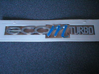 Genuine Vauxhall Eco M Turbo Badge Brand New Corsa/ D Astra/ J  And Insignia • 6.99£