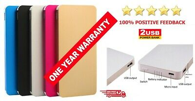 AU29.95 • Buy 50000mAh External Power Bank Dual USB Portable Battery Charger Mobile Phone New