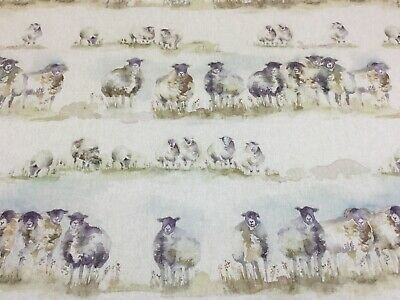 VOYAGE, COME BY Linen Sheep Fabric,Upholstery/Curtains/Blinds/Cushions • 16.95£
