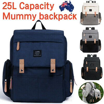 AU37.99 • Buy 2019 GENUINE LAND Multifunctional Baby Diaper Backpack Changing Bag Nappy Mummy