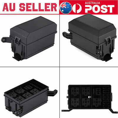 AU10.04 • Buy New 6-Way Fuse Relay Holder Box Socket For Auto Car SUV Off-Road Pickup Truck AU