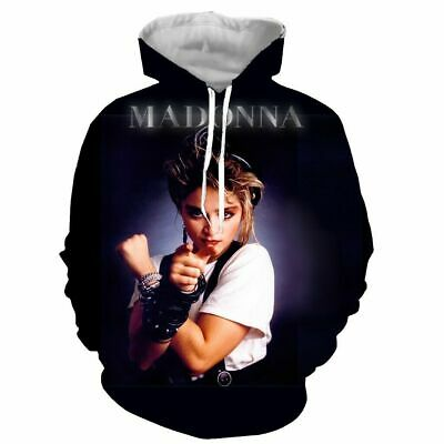 $ CDN21.45 • Buy Young Madonna 3D Print Hoodie Men Women Casual Sweatshirt Pullovers Tops