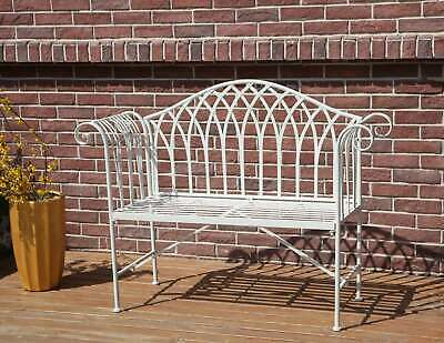 £119.99 • Buy BIRCHTREE 2 Seater Garden Bench Chair Metal Ornate Vintage Patio Outdoor MGB03
