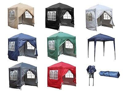 £92.99 • Buy BIRCHTREE Pop Up Gazebo 2X2M Waterproof Marquee Garden Awning Party Tent Canopy