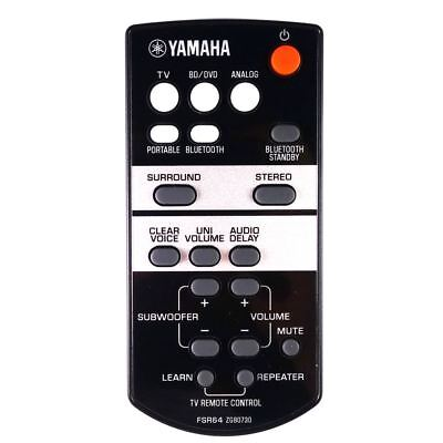 AU64.11 • Buy Genuine Yamaha ATS-1520BL / ATS1520BL Soundbar Remote Control