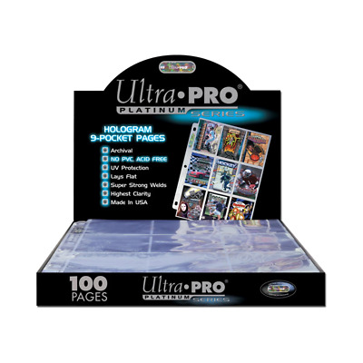 AU7.45 • Buy Ultra Pro Platinum 9 Pocket
