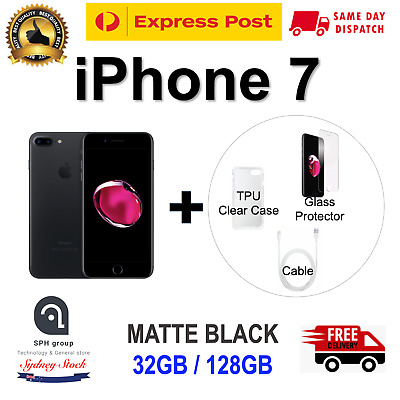 AU379 • Buy AS NEW APPLE IPhone7 128GB Smartphone 4G LTE 100% UNLOCKED