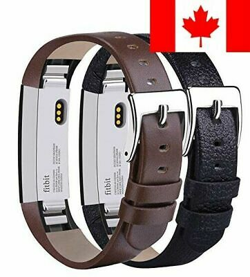 $ CDN20.73 • Buy Tobfit For Fitbit Alta HR / Fitbit Alta Leather Bands [2 Pack] Replacement Wr...