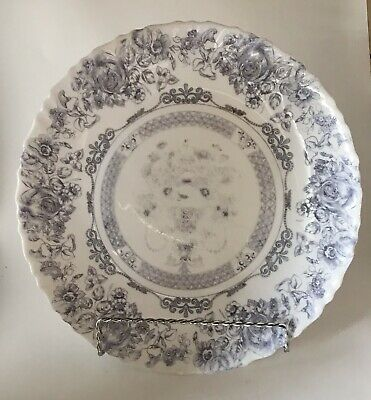 Vintage Arcopal Honorine Plate - Dinnerware - Replacement - Made In France • 11.07$